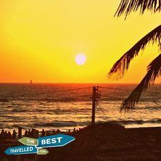#sunset #beach #Goa #India #resort #Indian #Ocean #stunning #views #visit #travel #explore