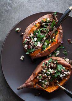 Stuffed Sweet Potatoes #Primal #Grain-free