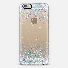 Frosty Sparkles Transparent iPhone 6 Case by Organic Saturation | Casetify. Get $10 off using code: 53ZPEA