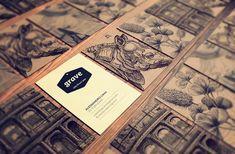 Identidade visual para peças e produtos da Grave Brasil