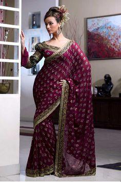 Bridal Wedding Sarees-Indian Wedding Saree