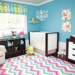 fun, colorful nursery!