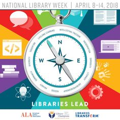 The 2018 National Library Week Celebration will mark the 60th anniversary of the first event, sponsored in 1958. DID YOU KNOW? Fun facts for National Library Week (chiff.com) • There are more public libraries than Starbucks in the U.S. — a total of 17,566 including branches. • Nearly 100% of public libraries in the U.S.…