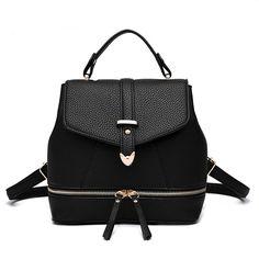 $40.00 (Buy here: https://alitems.com/g/1e8d114494ebda23ff8b16525dc3e8/?i=5&ulp=https%3A%2F%2Fwww.aliexpress.com%2Fitem%2FWomen-Leather-Backpack-Designer-Small-Backbag-For-Girls-Candy-Color-Shoulder-Bag-Daily-Backpack-2016-New%2F32710741875.html ) Women Leather Backpack Designer Small Backbag For Girls Candy Color Shoulder Bag Daily Backpack 2016 New Mochila Feminina for just $40.00