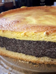 Polish Cake Recipe, Polish Recipes, Cake Recipes, Dessert Recipes, Desserts, Bosnian Recipes, Poppy Seed Cake, Food Cakes, Cupcake Cookies