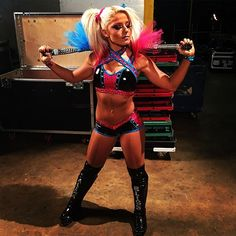 @alexa_bliss_wwe_ let it be known prior to #wwebacklash that she will walkout #WomensChampion