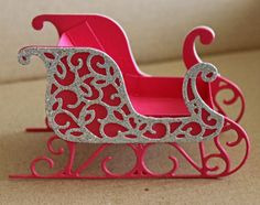 Party Favors Set of 10 Party Take Away Sleigh by Creationville