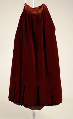 Evening dress Date: 1884–86 Culture: American