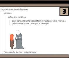 *Slow clap for the Harry Potter Fandom*