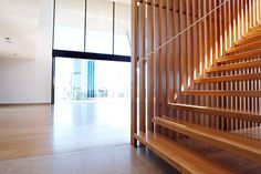 V1 Balustrade design -Vertical timber battens on stainless steel frame and stanchions