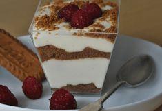 Jednoduchý nepečený dezert z tvarohu a smetany - EatSweet Tiramisu, Panna Cotta, Cheesecake, Deserts, Food And Drink, Pudding, Cupcakes, Sweets, Candy