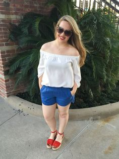 What This Mama Wore: A Memorial Day Outfit Idea - Beauty and the Binky:
