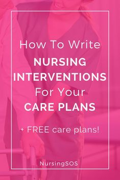 How To Write Nursing Interventions For Your Care Plans. Click through for 3 nursing school care plan hacks to help you succeed on your nursing school care plans! Nursing Apps, Nursing Goals, Nursing Care Plan, Nursing School Tips, Nursing Programs, Medical School, Nursing Major, Nursing Degree, Nursing Career