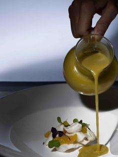 ¡ Sopita de aceitunas, bacalao desmigado y naranja! #plato #gastronomia #restaurante #restaurant #Hotel #VeredaReal #hotels #Sevilla #Seville #Andalucia #Spain