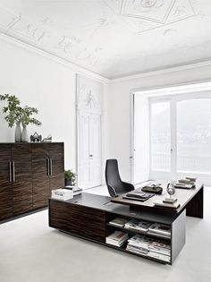 Design rectangular executive #desk by @sinetica