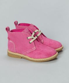 Pink 'Desert' Ortholite Boots - Infant, Toddler & Kids by Timberland Footwear on #zulilyUK today!