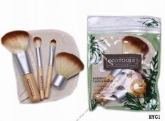Economic tools Bamboo Handle Women Makeup Brush Set Tools #eozy