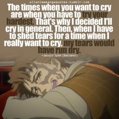 Jacuzzi - baccano quote never saw this anime, but that's such a good quote!