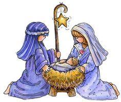 CHRISTMAS NATIVITY CLIP ART