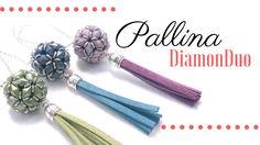 Come fare una pallina con perline Diamonduo - Schema con istruzioni