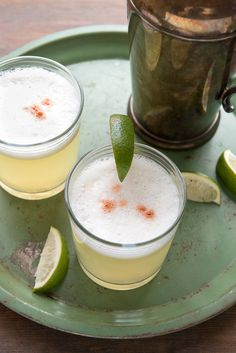 Peruvian Pisco Sour cocktail -  BoulderLocavore.com