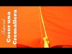 Cómo poner cremalleras. Curso online Aprende a coser a máquina - YouTube