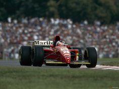 Gerhard Berger - Scuderia Ferrari 412T2 - 1995 Formula 1 Season [1600x1200]