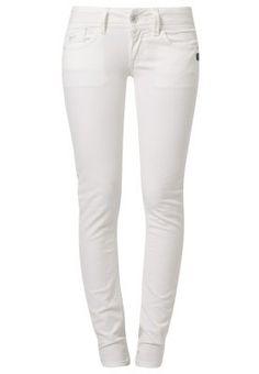LYNN SKINNY - Slim fit jeans - comfort rilloh white