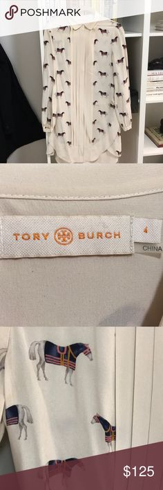 Tory Burch equestrian dress Silk dress with slip Tory Burch Dresses