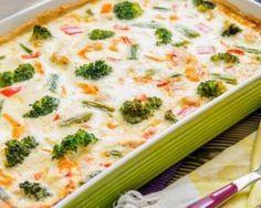 Quiche Croq'Kilos with peppers, turmeric and broccoli: www.fourchette-and . Dieta Paleo, Paleo Diet, Nutrition Diet, Quiches, Broccoli Quiche, Diet Recipes, Healthy Recipes, Mozzarella, Carne
