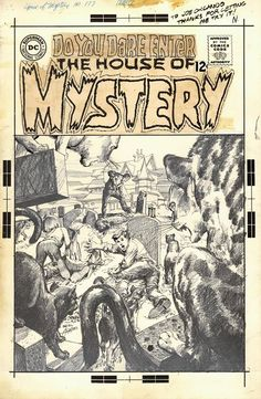 House of Mystery  by Neal Adams