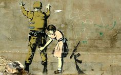 Banksy wood prints on wooden Woodpic canvasses. Unique iconic street art prints inspired by Banksy. Banksy Graffiti, Street Art Banksy, Pintura Graffiti, Graffiti Artwork, Graffiti Painting, Painting Prints, Art Prints, Poster Prints, Bansky