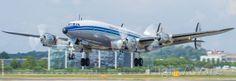 FlightAware Aviation Photos: (HB-RSC), The Breitling Super Constellation returns from her flight at Farnborough EGLF Commercial Aircraft, Constellations, Transportation, Aviation, Breitling, Airplanes, Landing, Style, Aircraft