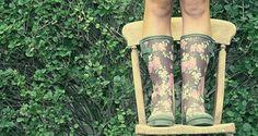 Quiero botas de lluvia!