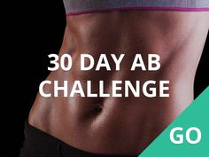 30 day ab challenge #30DFC #Ab #Workout