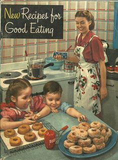"""The 1949 cookbook above — which features 112 pages of recipes all using healthy """"digestible"""" Crisco"""