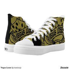 Vegas Loser Printed Shoes #vegas #dices #kustom @zazzle