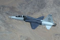 T-38 Talon supersonic trainer jet.