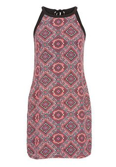 patterned chiffon shift dress (original price, $39) available at #maurices