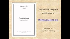 (Anonymous): Amazing Grace Sheet Music for: String quartet Includes: One score and four parts pages) Price: USD