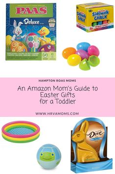 Amazon Mom's Guide to Easter Gifts for a Toddler
