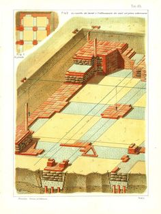 Building Construction Drafting  Vintage Print by CarambasVintage, $16.00