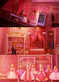 "Who else loved Charlotte La Bouff's room in Disney's ""The Princess and the Frog""?"