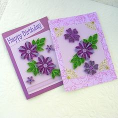 Paper Quilling Greeting Cards Paper Quilled by EnchantedQuilling,
