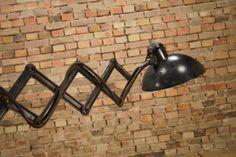 Bauhaus Walllamp - 30s Scissor Lamp - original Kaiser Idell - Art Deco Bauhaus, Kaiser, Wall Lights, Art Deco, California, The Originals, Vintage, Home Decor, Appliques