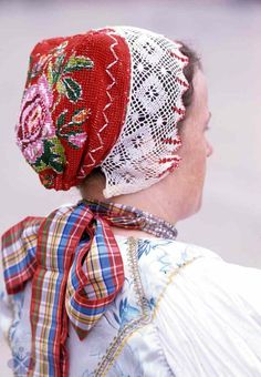 Čepiec, Liptovská Teplička, okr. Poprad, Slovakia European Costumes, Types Of Lace, Central And Eastern Europe, My Family History, Lace Making, Folk Costume, Bobbin Lace, Traditional Outfits, Textiles