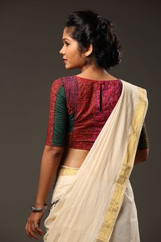 Essentially made from strips of left over Kalamkari fabric which have been patched together with quilting lines through. Inspired by the work and thinking of...