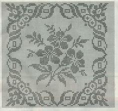 схемы вязания крючком сетки: 18 тыс изображений найдено в Яндекс.Картинках Free Crochet Doily Patterns, Filet Crochet Charts, Crochet Borders, Crochet Diagram, Crochet Motif, Crochet Designs, Crochet Cushion Cover, Crochet Cushions, Crochet Tablecloth