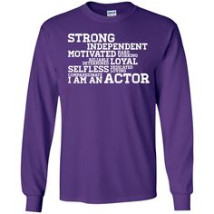 actor5-01 LS Ultra Cotton Tshirt