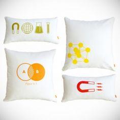 Modern Chemistry Pillows